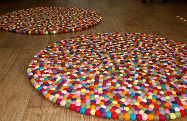 100 cm pinocchio multicolored rug handmade in by. Black Bedroom Furniture Sets. Home Design Ideas