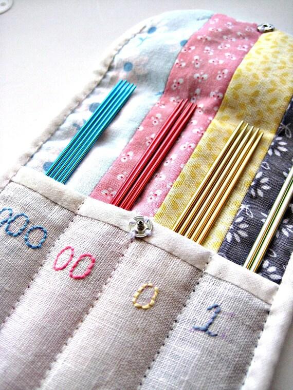 Knitting Needle Storage Diy : Items similar to sock knitting needle organizer on etsy