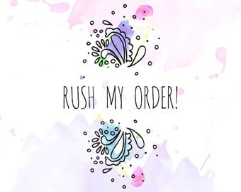 RUSH - Upgrade to Priority Shipping & Order Processed within 24 hours, Domestic Orders Only