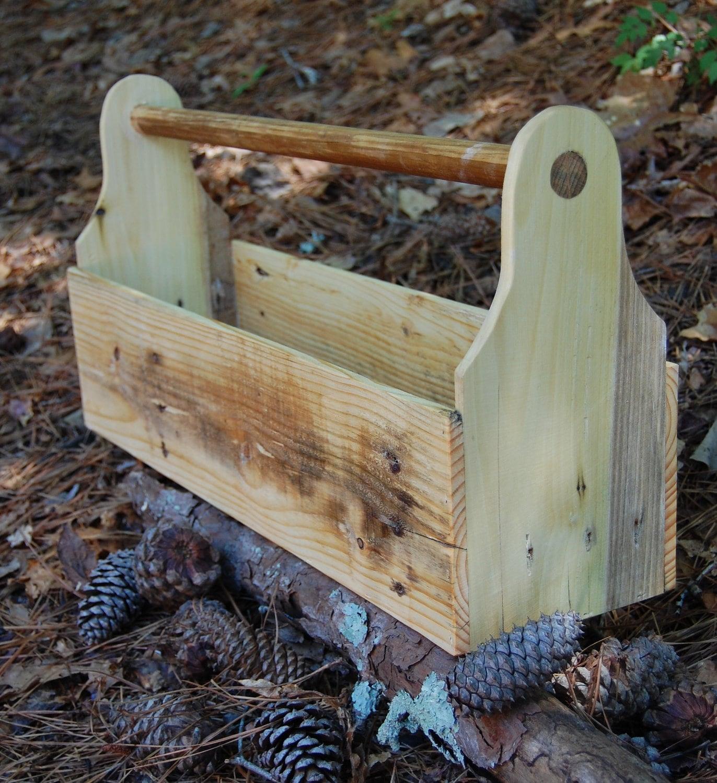 Wooden Decorative Boxes: Decorative Tool Box/ Bath Caddy/ Planter/ Organization/