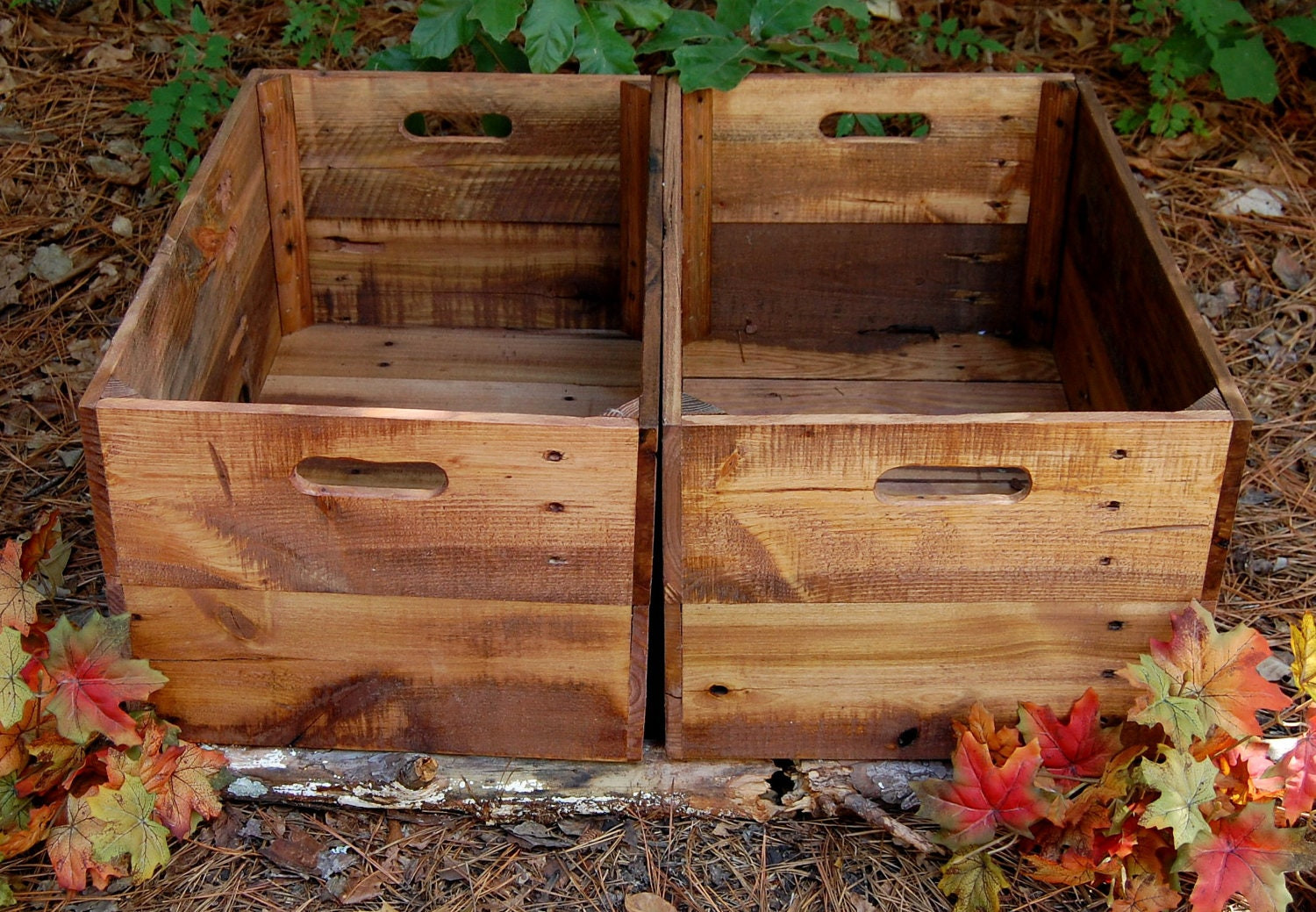 Wooden Crates/ Rolling Crates/ Large Crate/ by ...