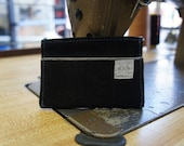 Stylish Handcrafted Cone Denim Red Selvedge Skinny Wallet by den.m bar
