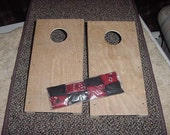Tabletop Cornhole Game Set  (Assembled & Unpainted) (Fall Sale)  (making Presents for Christmas)