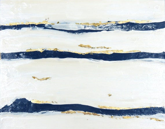 RESERVED Michelle Mod Undercurrent No. 2 Original Abstract Painting