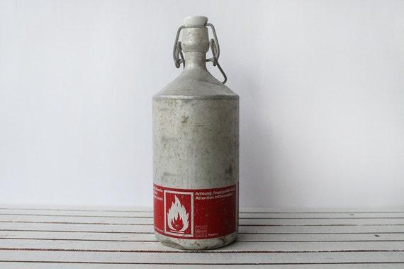 Antique Markill Fuel Bottle