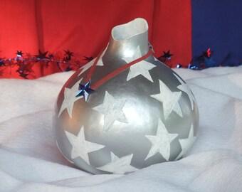 Starred Patriotic Vase