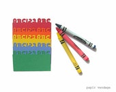 10 Back to School ABC Notecards Blank, primary color notecards, abc123 notecards, special notes , rainbow notecards blank