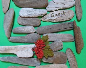 Flattish Driftwood Pieces, Drift Wood Name Cards, Craft Supplies, Beach Wedding Decor, Sailboats, Escort Cards, Beach Wedding Decor