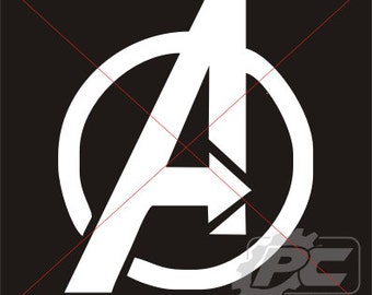Avengers Logo Vinyl Decal / Sticker