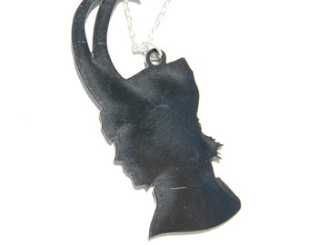 Loki Silhouette necklace