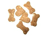 All natural dog treats, 25 gourmet peanut butter & cinnamon biscuits - PUPERNICKEL AND SPICE