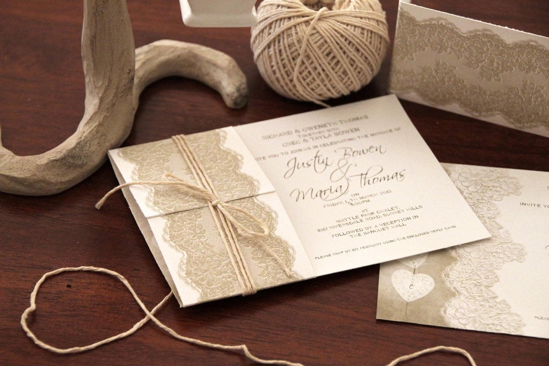 Hochzeitseinladungen Landhausstil – MaiLmaL