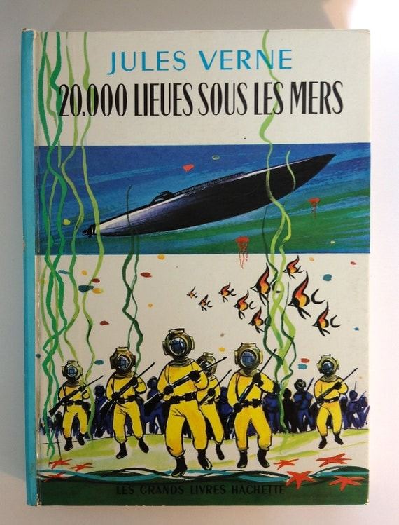 French 20,000 Leagues book 1947