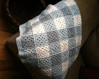 Gingham Checks Baby Blanket