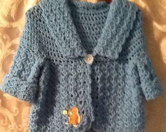 Aqua sweater size 4 t0 5