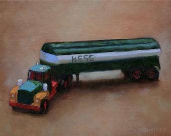 Hess Truck - Fine Art Print