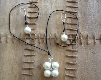 Wire Shell Pearls