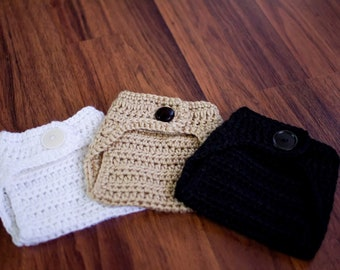Photographers Special--Set of 3 crochet diaper covers for 18.99