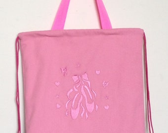 Ballet Drawstring Backpack