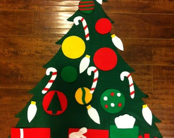 End of the Season Sale: Children's Felt Christmas Tree (Ships in 1 business day!)