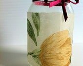 Meadow in a Jar Candle Holder