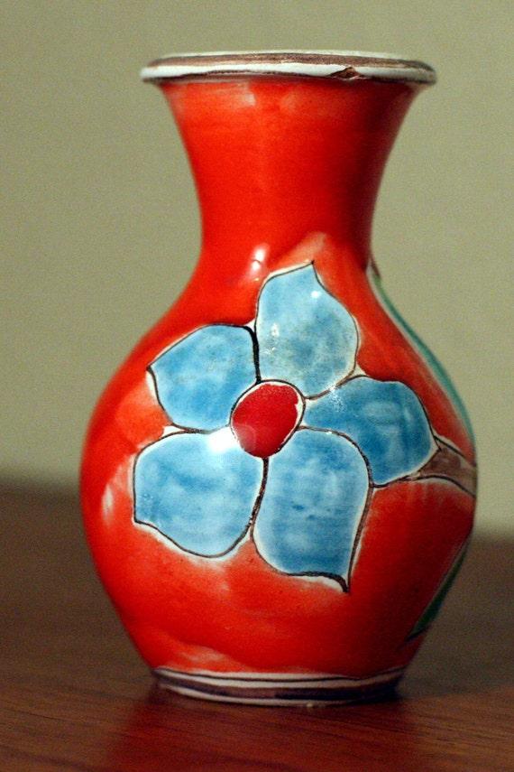DeSimone, Flower Vase, Retro Vase, Small Vase, Ceramic Vase, Porcelain Vase, Vase Pottery, Italian Vase, Bud Vase, Mid Century Vase
