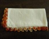 SALE was 10 dollars Tatted Ladies Handkerchief