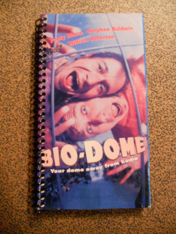 Recycled VHS Journal - Bio-Dome