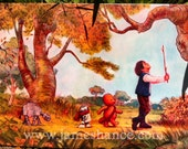 """Wookiee The Chew - A Most Bold Adventure - 24""""x18"""" Signed Canvas print by James Hance"""