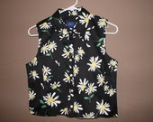 flower button down floral small