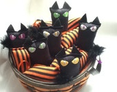 Halloween Black Catnip Cat (1)