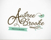 Photography Logo Custom Premade Calligraphy Swash for photography, small business