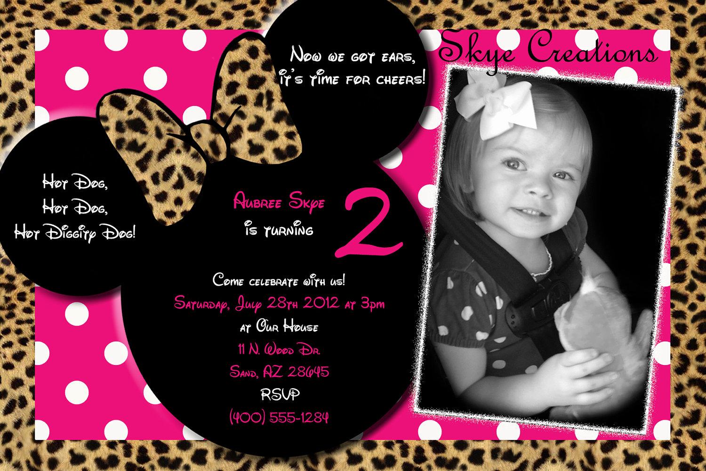 Cheetah Print Baby Shower Invitations as adorable invitation sample