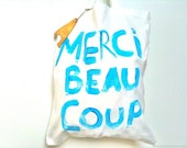 Merci Beaucoup TOTE Bag / My Little French Shop