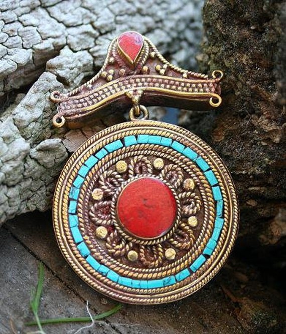 Nepalese Mandala Pendant