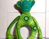 Green Chimpanzee Plush