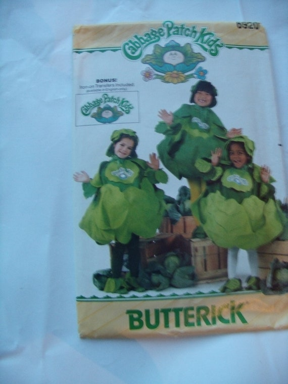 Butterick Costumes 6920 Cabbage Patch Kids