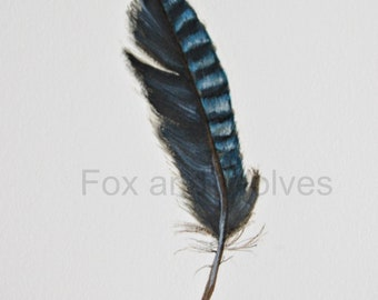 Feather - feather painting