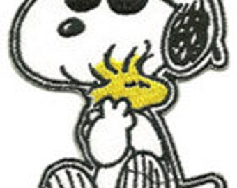snoopy with woodstock patch