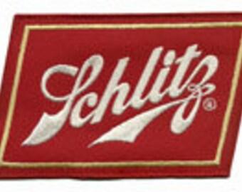 schlitz patch large