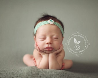 Newborn to Child {Ariel} Tieback, Newborn Photography Prop, Child Photography Prop