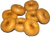 Apple Cinnamon Doughnut Tart Candle - Sample