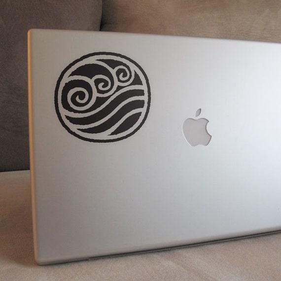 Avatar The Last Air Bender - Water Bending Vinyl Decal