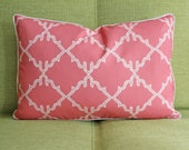 "12"" x 18"" Pillow Cover in Moroccan Vermillion Red"