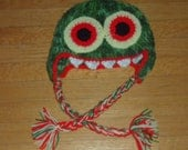 Hungry Zombie Flap Hat