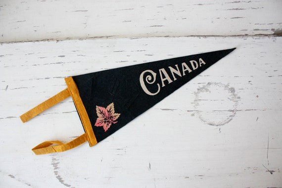 Vintage Canada Pennant
