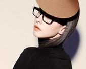 extravagant geometric hat