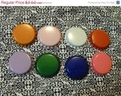 20% Off Sale 25 Piece Mixed Lot Scratched Colored Bottle Caps lot 36