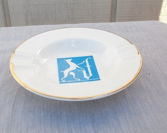 Vintage Ceramic Ironstone USA Ashtray
