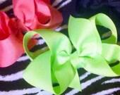 """4"""" Solid Color  Boutique Bows - You Choose The Colors"""
